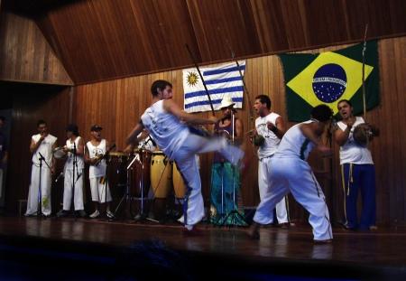Presentacion de Capoeira en Auditorio Italiano, Prefeitura de Encantado